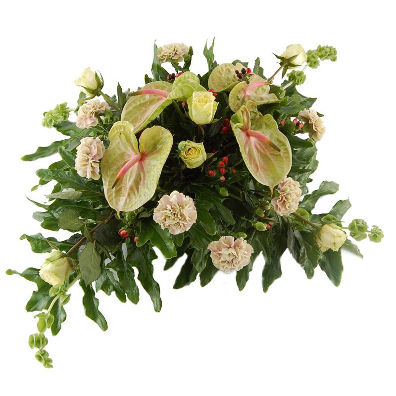 Wiązanka pogrzebowa – Droga ku niebiosom Kwiaty na pogrzeb