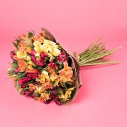 Bukiet alstromerie Kwiaty