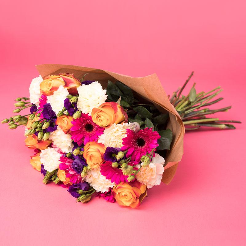 Fantazyjny bukiet Kwiaty