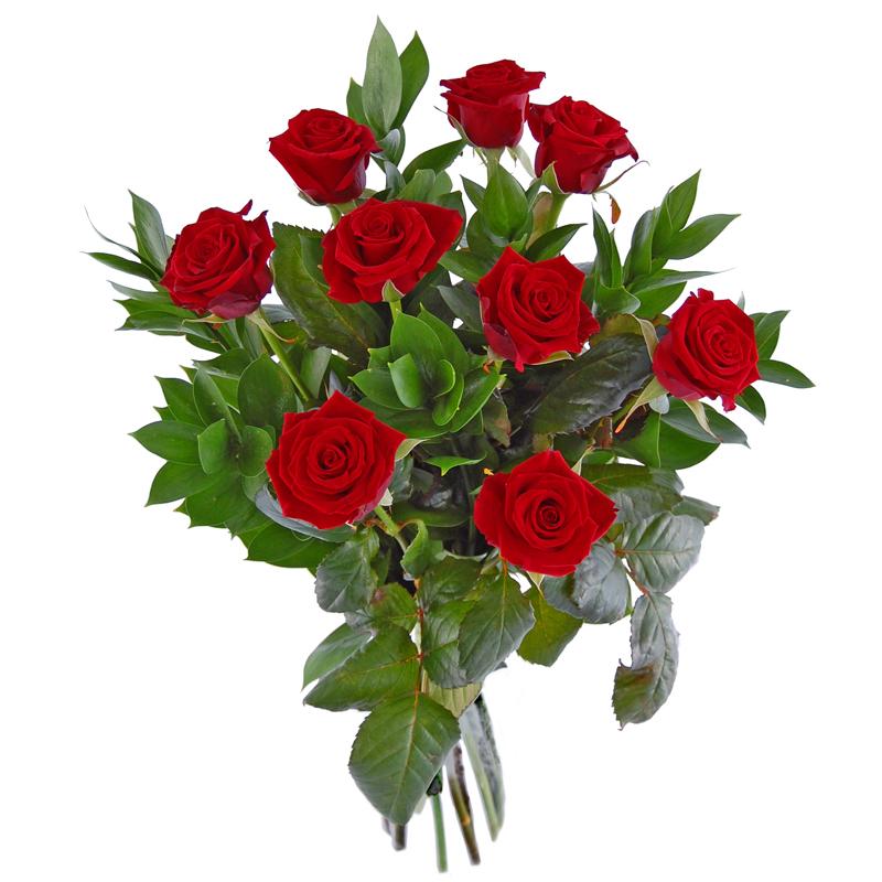9 róż – Potęga miłości Kwiaty