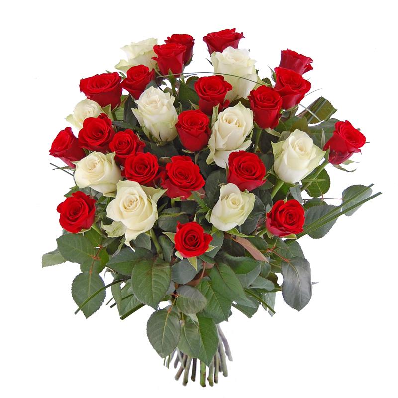 Ogromny bukiet róż Kwiaty