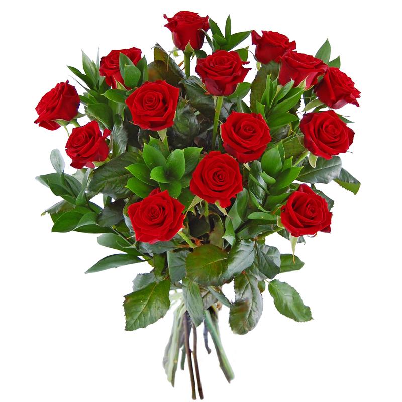 Czerwone róże Kwiaty
