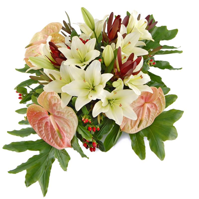 Wiązanka pogrzebowa – Bezkresny spokój Kwiaty na pogrzeb