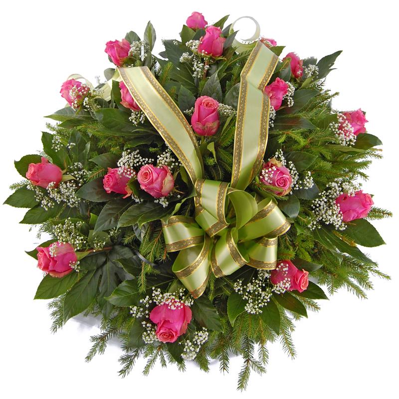 Wieniec pogrzebowy – Mój anioł Kwiaty na pogrzeb