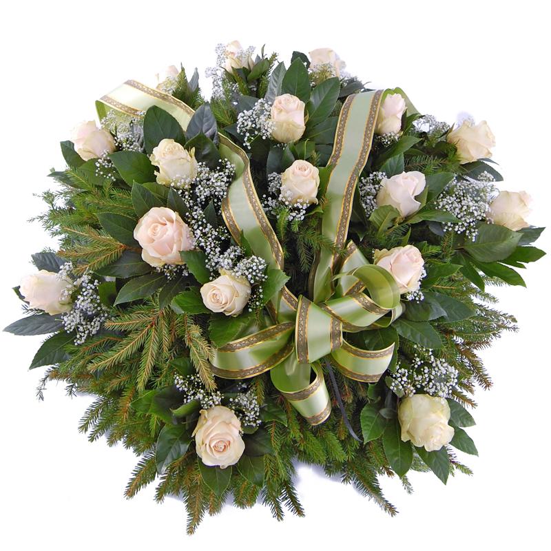 Wieniec pogrzebowy – Moje niebo Kwiaty na pogrzeb