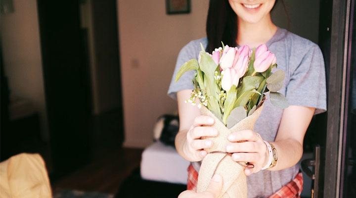Kwiaty na rocznicę