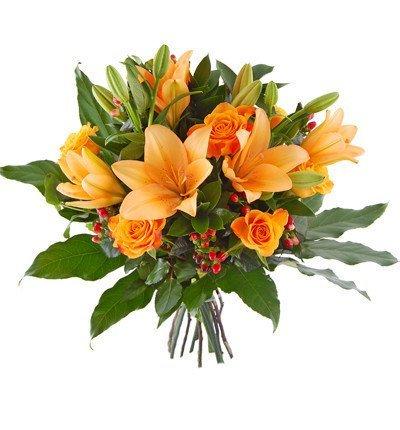 Bukiet jesienne kwiaty